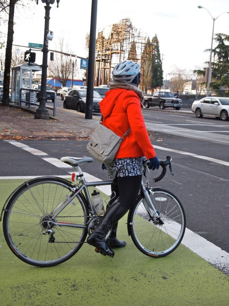 Spotted: Commuting in Portland